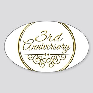 3rd Anniversary Sticker