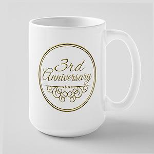 3rd Anniversary Mugs