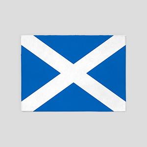 Team Scotland Saltire 5'x7'Area Rug