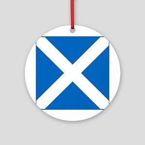 Team Scotland Saltire Ornament (Round)