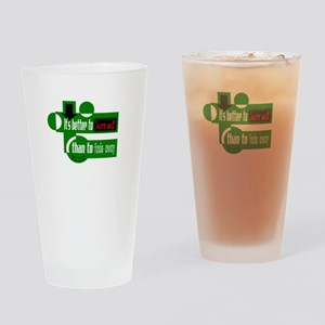 Burn Out/Fade Away-Neil Young Drinking Glass