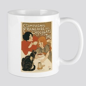 French Chocolate and Tea 1896 Mugs