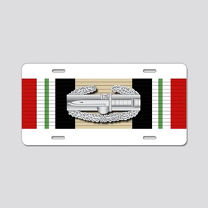 CAB Iraq Aluminum License Plate
