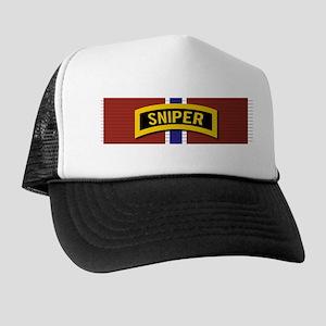 Sniper Bronze Star Trucker Hat