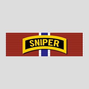 Sniper Bronze Star Wall Decal