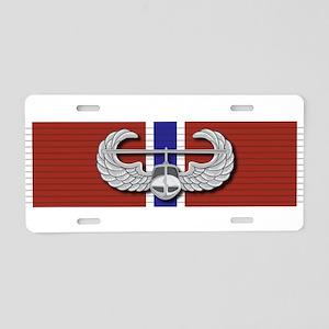 Air Assault Bronze Star Aluminum License Plate