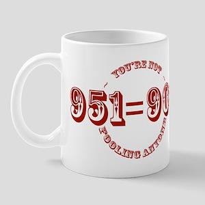 951 is 909.  You're not fooling anyone Mug