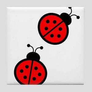 Ladybirds Tile Coaster