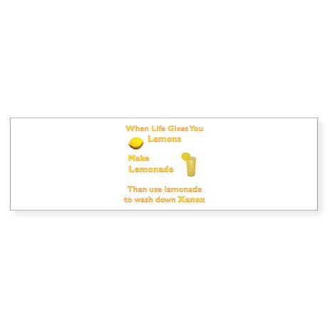Lemonx Bumper Sticker