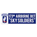 173rd Airborne BCT Bumper Sticker