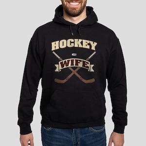 Hockey Wife Hoodie (dark)