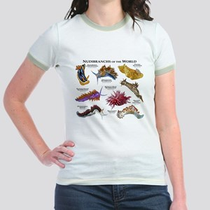 Nudibrachs of the World Jr. Ringer T-Shirt