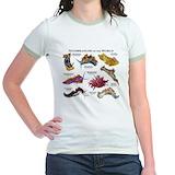 Sea slugs Jr. Ringer T-Shirt
