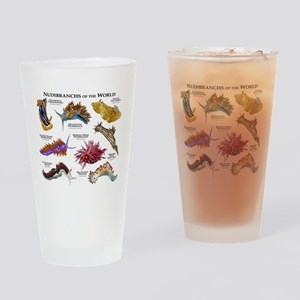 Nudibrachs of the World Drinking Glass