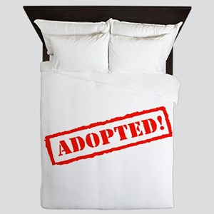 Adopted Stamp Queen Duvet