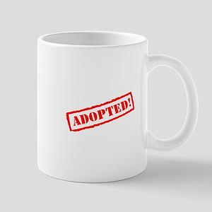 Adopted Stamp Mugs