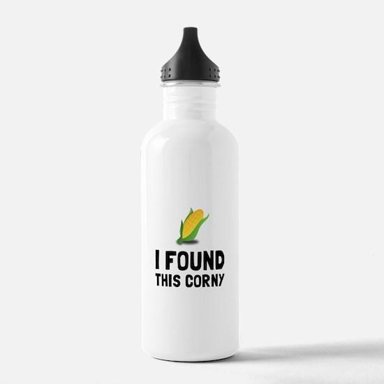 Found Corny Water Bottle