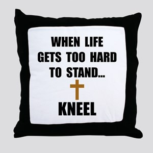 Kneel Throw Pillow