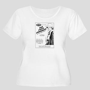 Rudolph Valentino Women's + Sz Scoop Neck T-Shirt