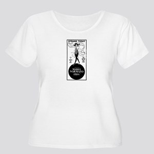 Mabel Normand Women's Plus Size Scoop Neck T-Shirt