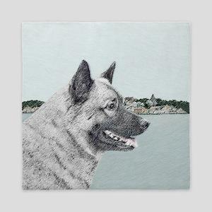 Norwegian Elkhound Queen Duvet