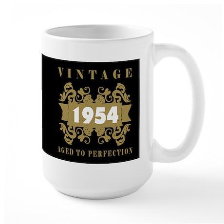 1954 Aged To Perfection Large Mug