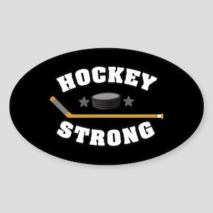 Hockey Strong Sticker (Oval)