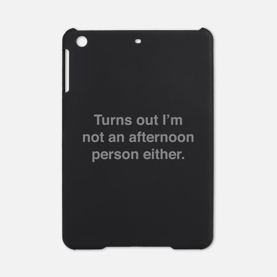 Afternoon Person iPad Mini Case