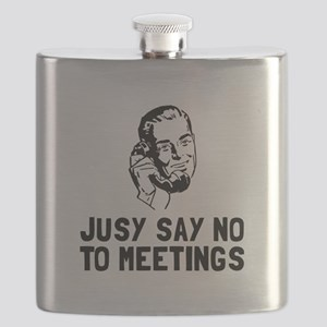 No Meetings Flask
