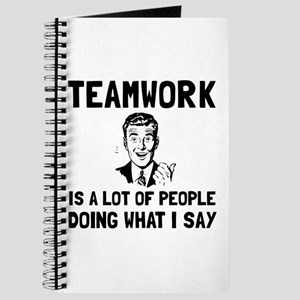 Teamwork Say Journal
