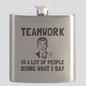 Teamwork Say Flask