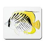 Threadfin Butterlyfish Mousepad