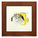 Threadfin Butterlyfish Framed Tile