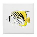 Threadfin Butterlyfish Tile Coaster