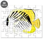 Threadfin Butterlyfish Puzzle