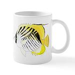 Threadfin Butterlyfish c Mugs