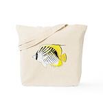 Threadfin Butterlyfish c Tote Bag