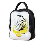 Threadfin Butterlyfish c Neoprene Lunch Bag
