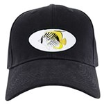 Threadfin Butterlyfish c Baseball Hat
