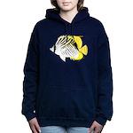Threadfin Butterlyfish c Hooded Sweatshirt