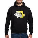 Threadfin Butterlyfish c Hoodie