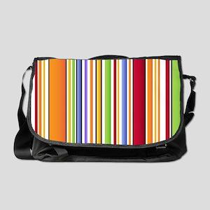 Colorful Stripes 2 Messenger Bag