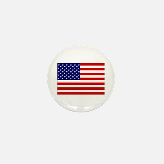 Cute World flag Mini Button
