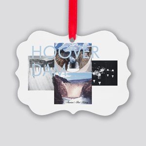 ABH Hoover Dam Picture Ornament