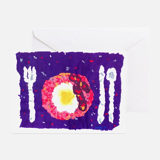 'Bacon and Eggs' Greeting Cards (Pk of 10)