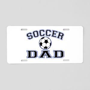 SoccerDad Aluminum License Plate