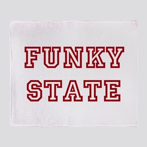 FUNKY STATE Throw Blanket