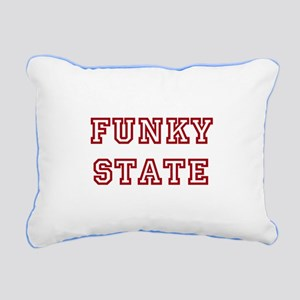 FUNKY STATE Rectangular Canvas Pillow