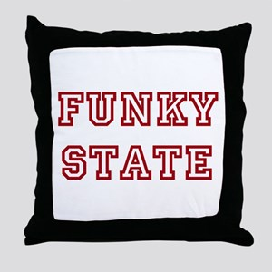 FUNKY STATE Throw Pillow