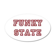 FUNKY STATE Wall Decal